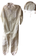 Fully Ventilated Beekeeping Full Suit with Hood